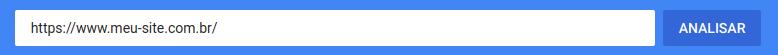 Exemplo de uso do Google PageSpeed Insights para domínios com SSL e www