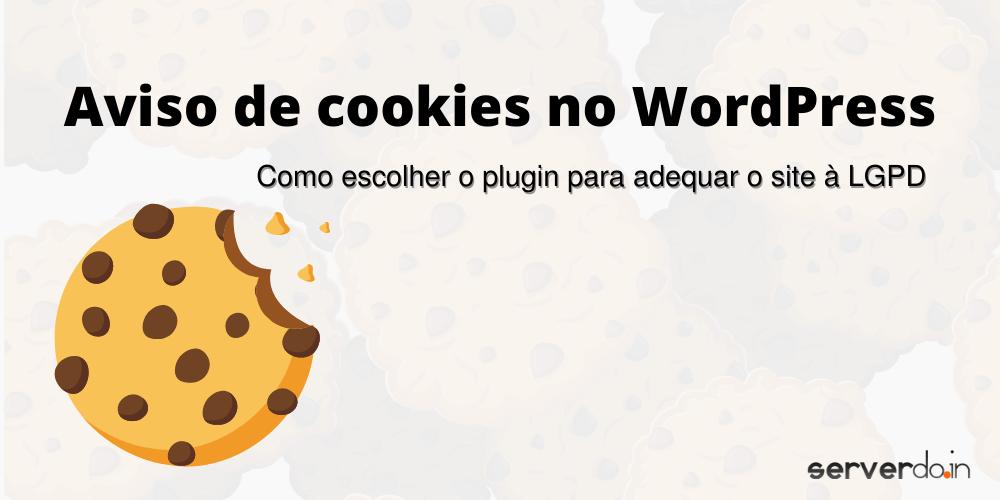 aviso de cookies no WordPress